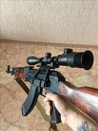 Šina i nosač optike za lovačke varijante AK sistem