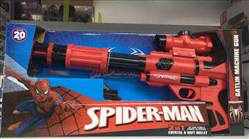 Spajdermen mašin gun igračka