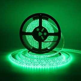 Led traka 5050 zelena 12V IP44 60 LED/1m