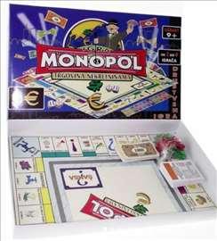 Monopol društvena igra na srpskom