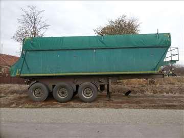 Prodajem polu prikolicu za kamion - kadu