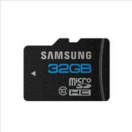 Samsung Micro SD kartice 8GB, 16GB 32GB