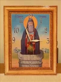 Zidni satovi sa likovima svetaca