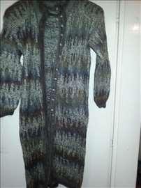 Mantil dugačak vuna i angora - sa revije