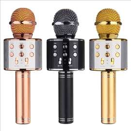 Mikrofon karaoke bluetooth sa zvucnikom ws-858