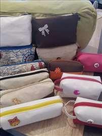 Pernice, torbe za patike, neseseri