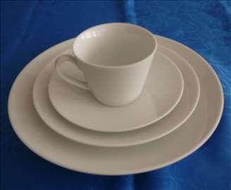 Italijanski set za jednu osobu,fini porcelan.Novo