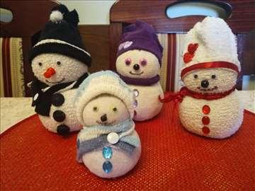 Sneško sa porodicom