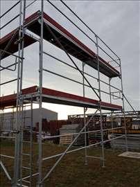 Fasaderska ramovska skela Layer sistem, NOVA