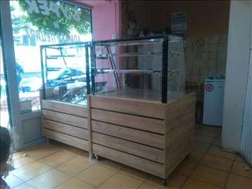 Tople i neutralne vitrine za pekare, picerije,novo