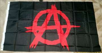 Anarhija zastava - anarchy flag