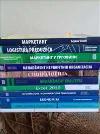 Knjige za Višu poslovnu smer Menadžment