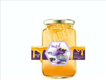 Etikete nalepnice za med, vino, ajvar, džem