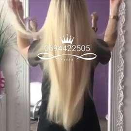 Nadogradnja kose svim metodama i prodaja klipsi