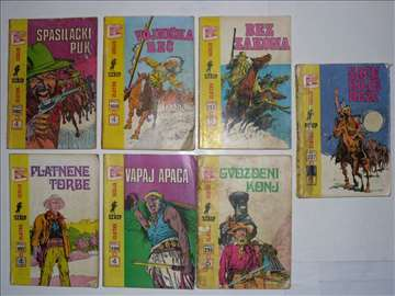 Priče sa divljeg zapada.od broja 187-411