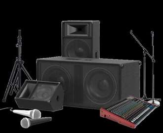 Iznajmljivanje audio opreme - ozvucenja BEOGRAD