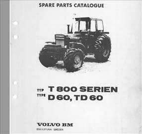 Volvo 800-810-814  Katalog rezervnih delova