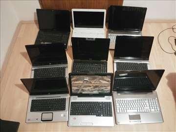 9 neispravnih laptopova