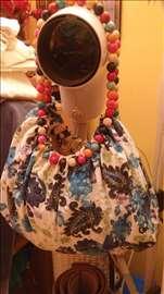 Platnena torba za plazu prelepih boja