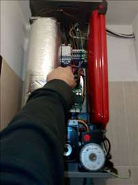 Popravka,servis električnog etažnog grejanja,kotao