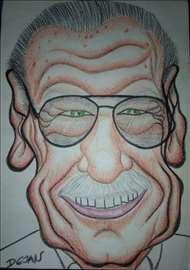 Crtanje portreta u karikatura i drugih crteža