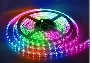 LED Traka 5m Komplet sa Daljinskim - JAČI MODEL vo