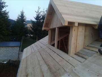 Majstori, izgradnja krovova i sanacije starih