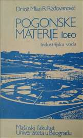 Pogonske materije II deo - Industrijska voda