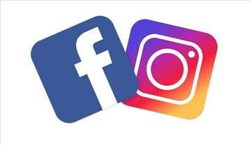 Vođenje instagram i facebook stranica