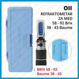 Refraktometar 58-90% Brix