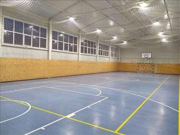 Sala za fudbal, košarku i odbojku | Teraflex pod