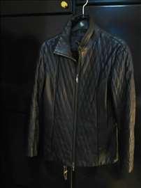 Clan-kožna štepana jakna