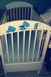 Krevetac i komoda za bebe