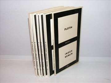 Eneade 1-6 Plotin + index rerum