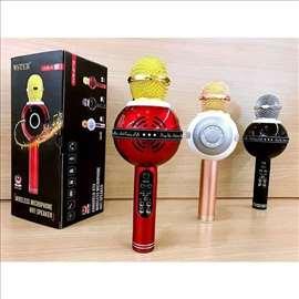 Mikrofon karaoke bluetooth WS-878 mikrofon