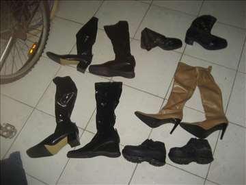 Čizme ženske na više 249 din par, hitno