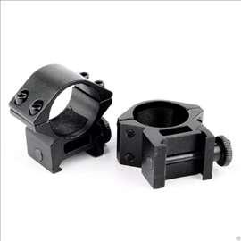 Nosaci 25.4mm za optiku ili lampu