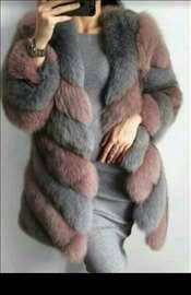 Nova luksuzna bunda lisica S,M