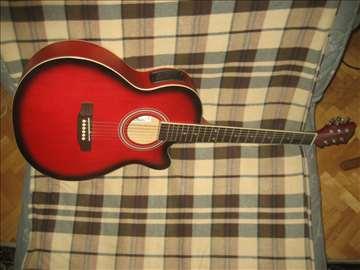 Ozvucena akusticna gitarazamena