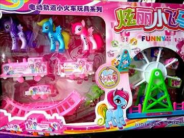 Poni veliki zabavni park novo velika igračka Poni
