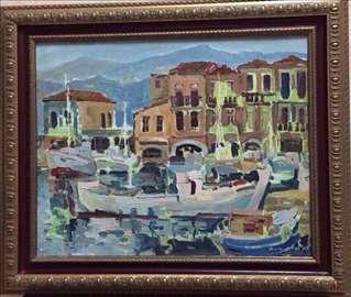 """Slika """"Uvala"""", umjetnik Dimitrov(Makesonija),2007"""