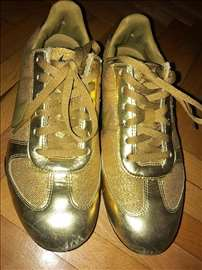 Zlatne Nike patike br 36