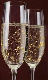 Šampanjac sa 23-karatnim opiljcima zlata