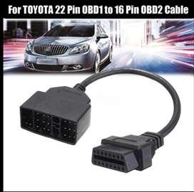 22 Pin OBD1 u 16 Pin OBD2 adapter za Toyota vozila