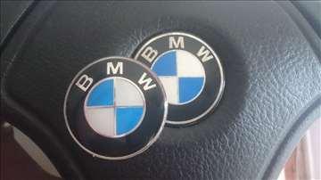 NOVO BMW znakovi stikeri za volan