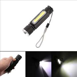 USB punjiva LED baterijska lampa sa magnetom