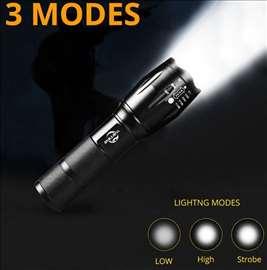USB Rechargable LED Flashlight 10000 Lumens
