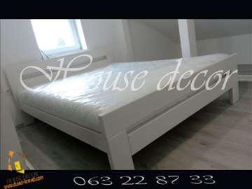 Krevet Havana u beloj boji 120x200