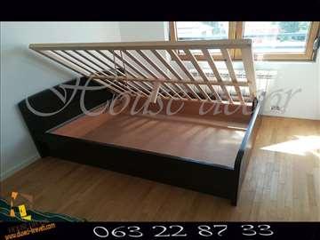 Krevet Kan wenge sa kutijom i mehanizmom