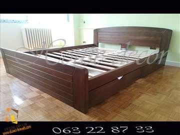 Krevet Kan orah 160x200 + 2 fioke